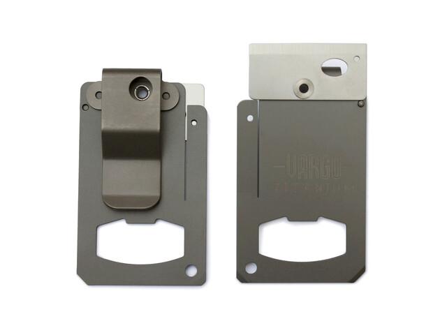 Vargo Swing - Herramientas - con clip / titanio gris